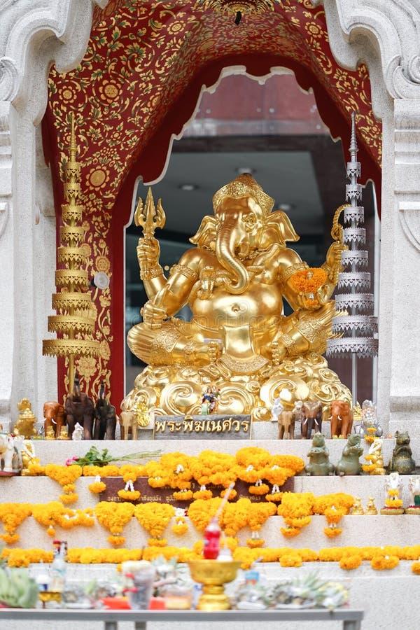 ganesha Ganesha jest jeden znani Hinduscy bóg On ` s bóg o obrazy stock
