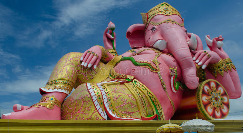 Ganesha modell arkivfoto