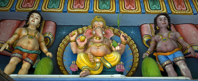 Ganesha, monte de Penang, Malásia foto de stock royalty free