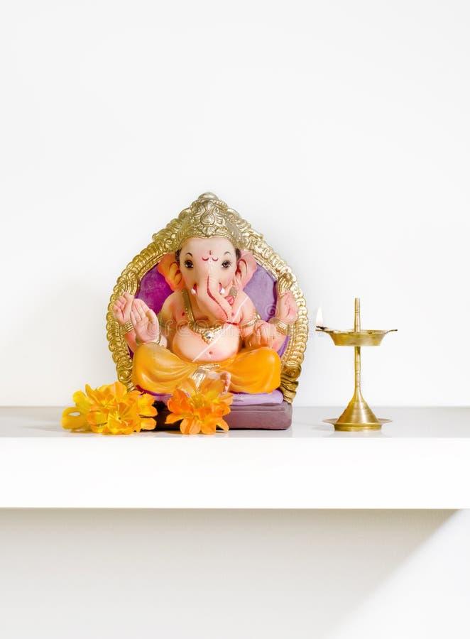 Ganesha na prateleira imagens de stock royalty free