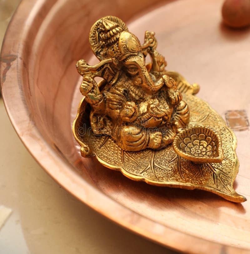 Indian God- Ganesha God The son of shiva royalty free stock images