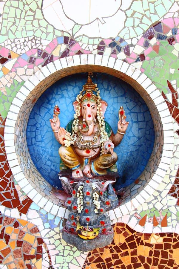 Ganesha statua indu obraz stock