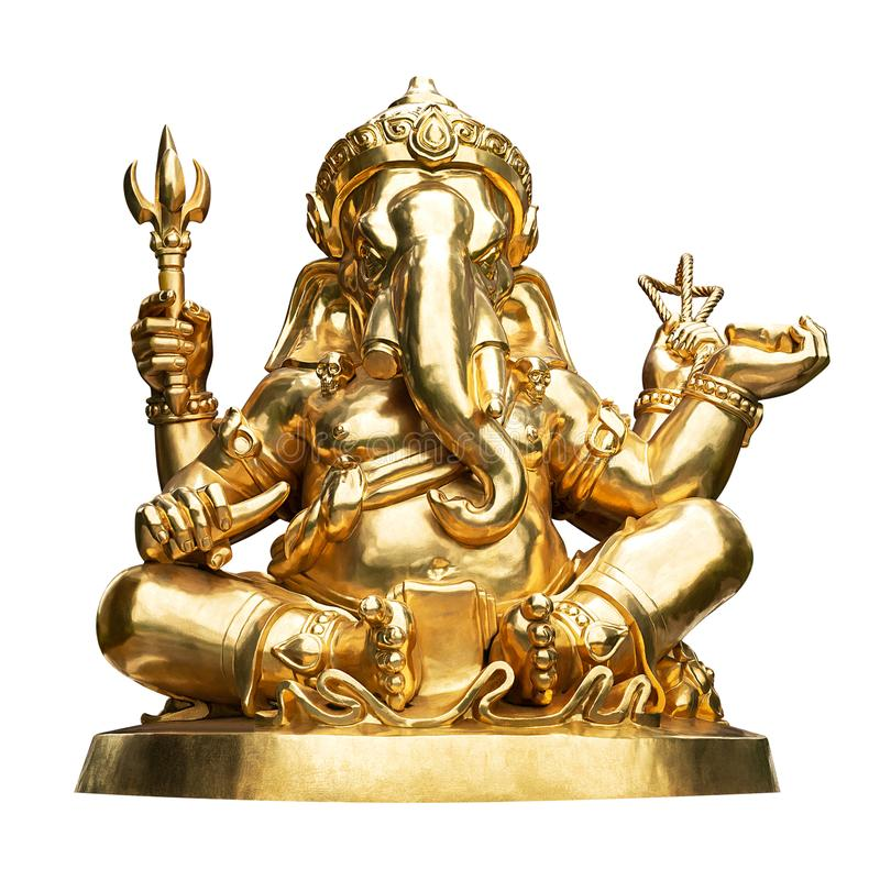 Ganesha-Statue lokalisiert lizenzfreie stockfotos