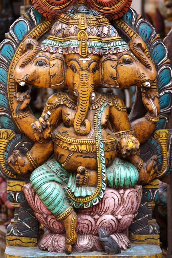 Ganesha van Lord royalty-vrije stock afbeeldingen