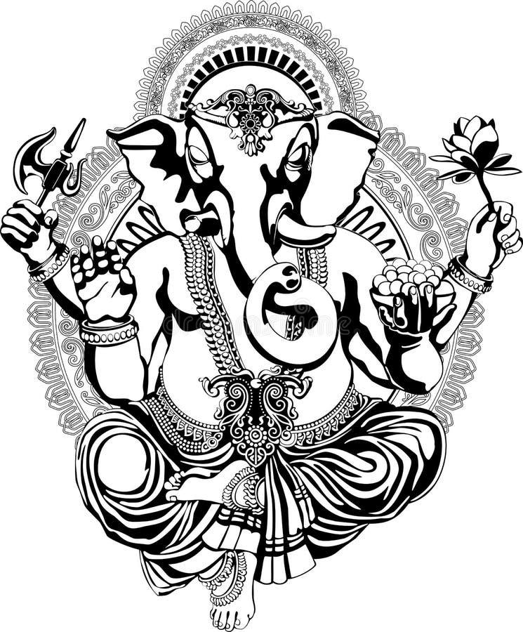 Ganesha vector illustration
