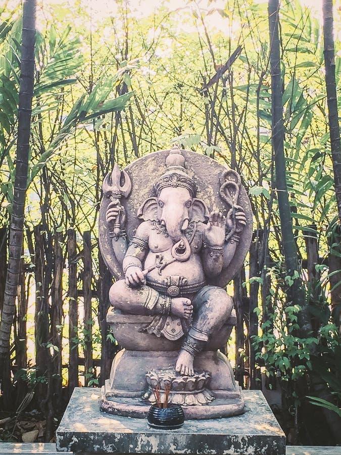 Ganesha władyka sukces zdjęcie stock