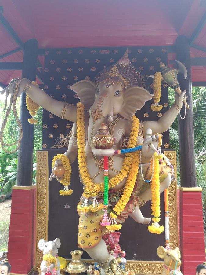 Ganesha władyka sukces obraz royalty free