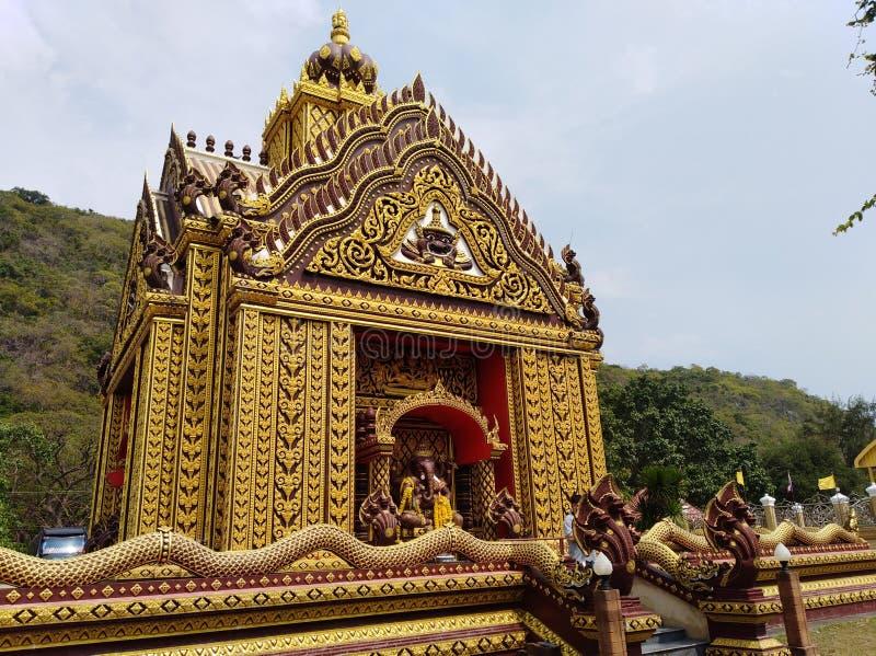 Ganesha ?wi?tynia zdjęcie royalty free