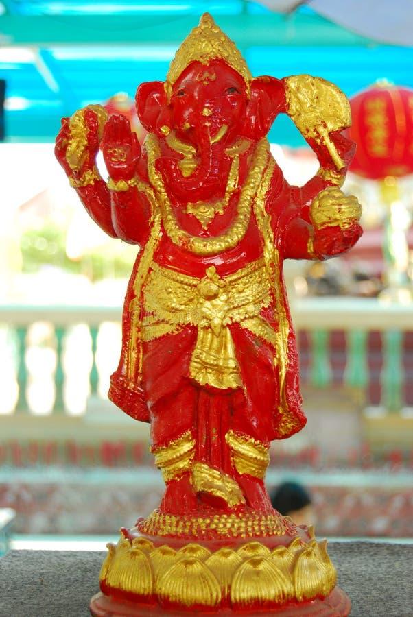 Ganeshahandeling. royalty-vrije stock afbeeldingen