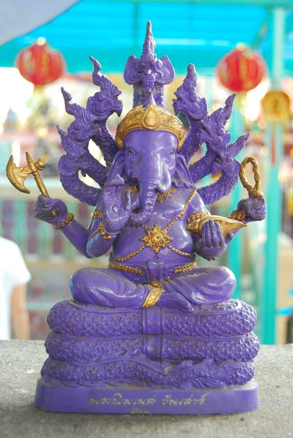 Ganeshahandeling. stock foto's