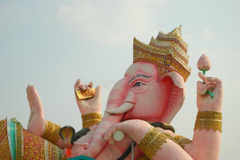Ganeshahandeling. royalty-vrije stock fotografie
