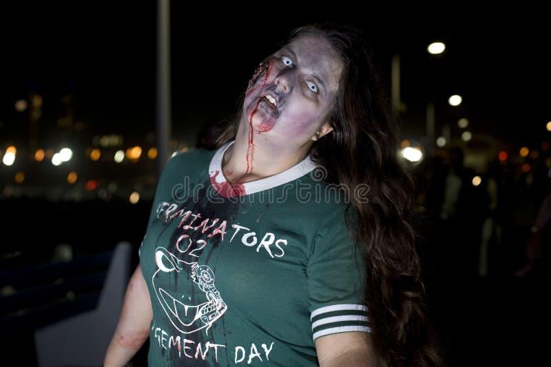 Gang 11 van de Zombie van La stock foto's