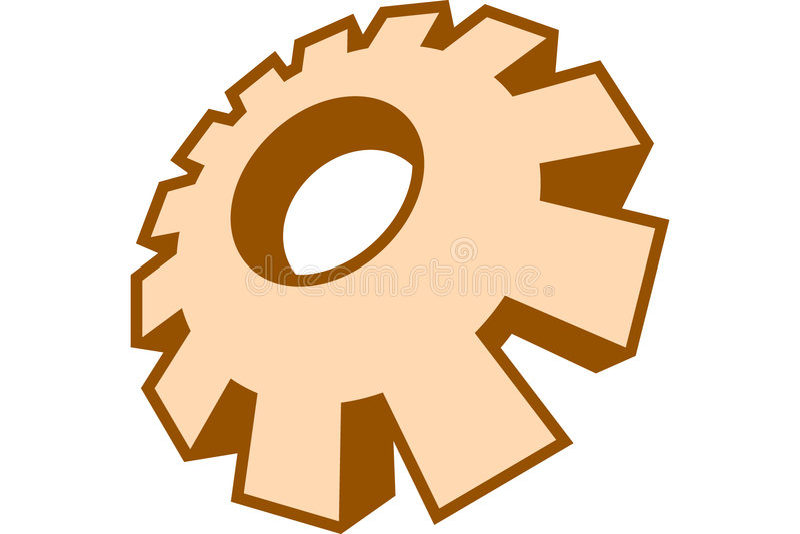 Download Gang vektor abbildung. Illustration von gang, zahn, vorrichtung - 34743