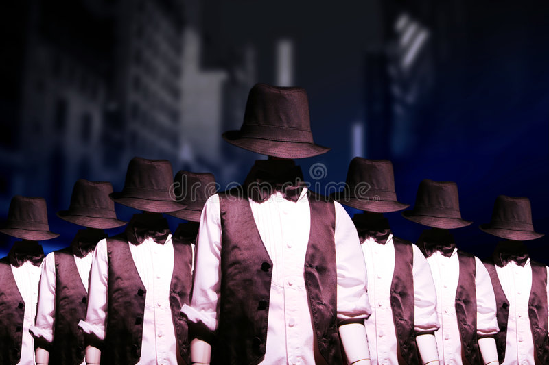 Download Gang of bandits stock photo. Image of criminal, bandits - 7295234