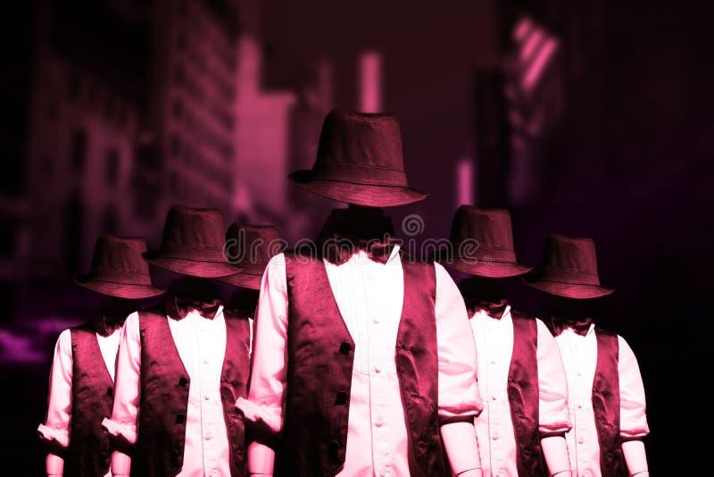 Gang Of Bandits Stock Image