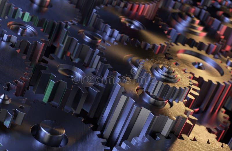 Gang-industrieller Hintergrund lizenzfreie stockfotografie