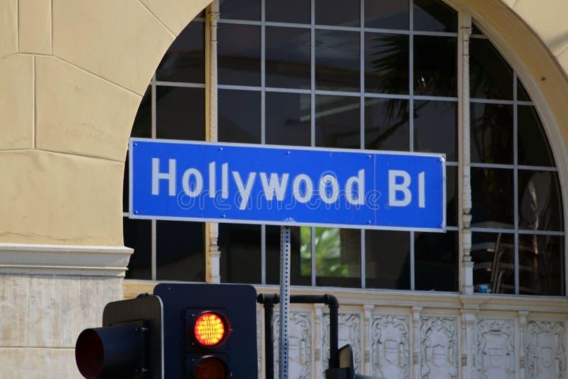 Gang van Bekendheid, Los Angeles, Californië, de V.S. stock fotografie