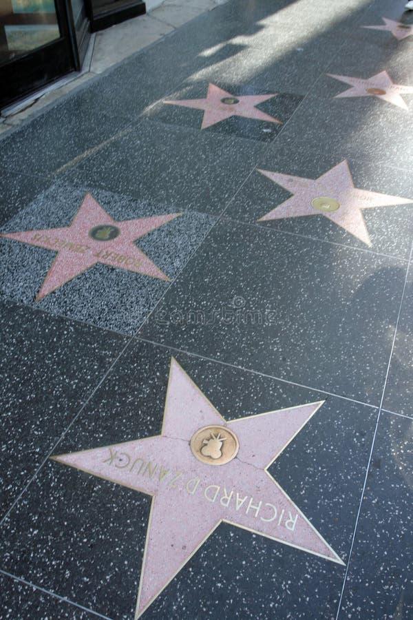 Gang van Bekendheid, Los Angeles, Californië, de V.S. royalty-vrije stock foto's