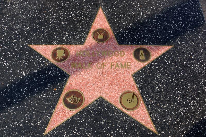 Gang van bekendheidsster op de Hollywood-Gang van Bekendheid royalty-vrije stock foto's