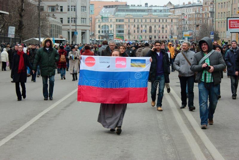 Download Gang Van Vrede, Moskou, Rusland Redactionele Stock Afbeelding - Afbeelding bestaande uit protest, europa: 39112539