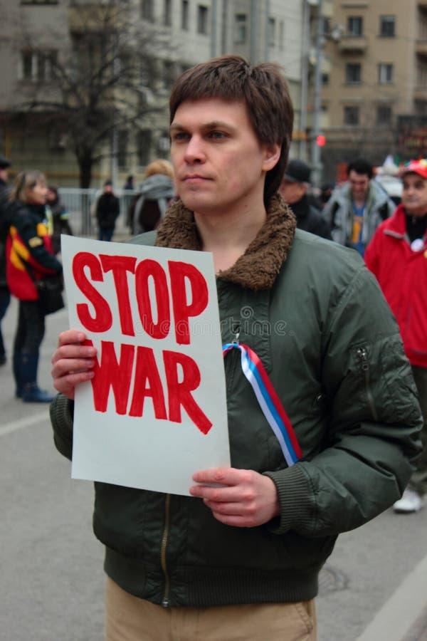 Download Gang Van Vrede, Moskou, Rusland Redactionele Afbeelding - Afbeelding bestaande uit fascisme, protest: 39112995