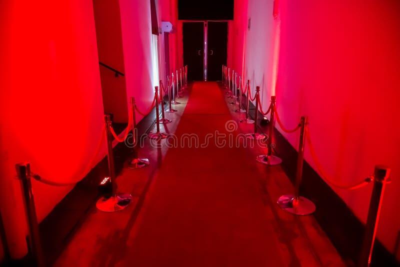 Gang voor nachtclub of trefpunt royalty-vrije stock foto