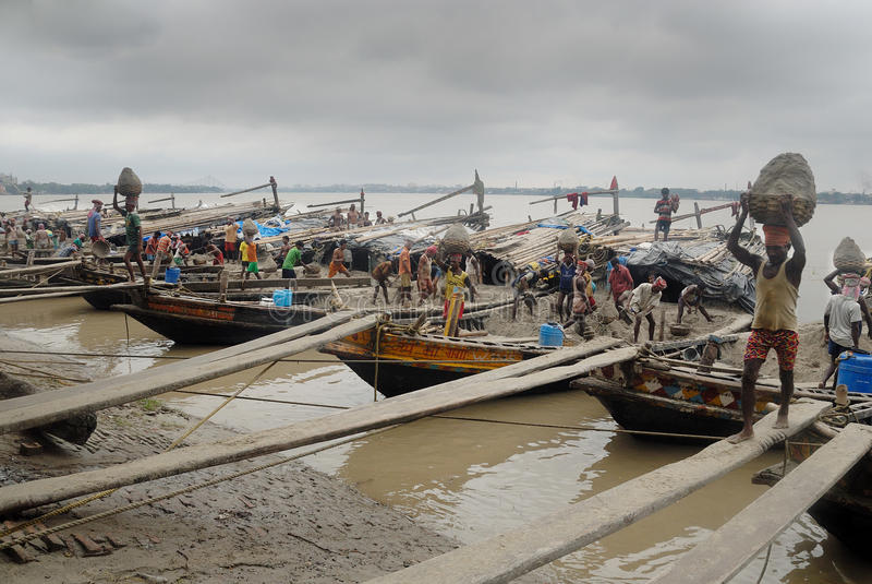 Download Ganga river in Kolkata editorial stock photo. Image of kolkata - 16468153