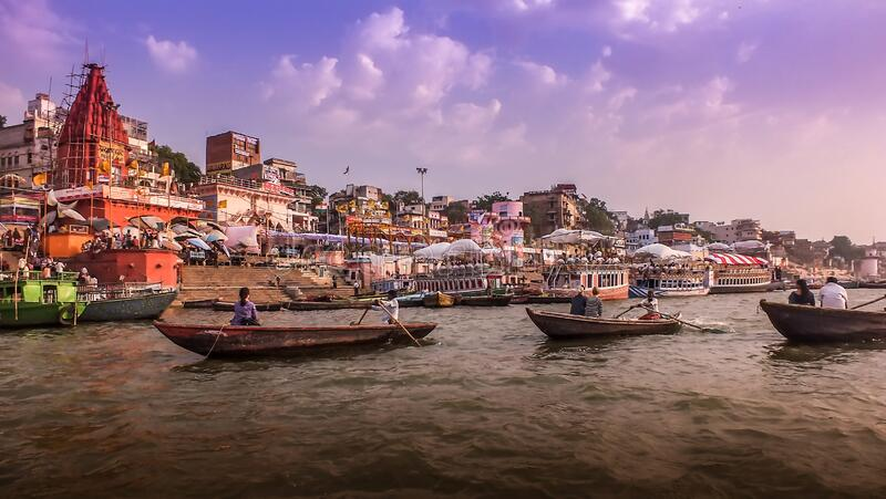 Ganga River, Varanasi, India Free Public Domain Cc0 Image