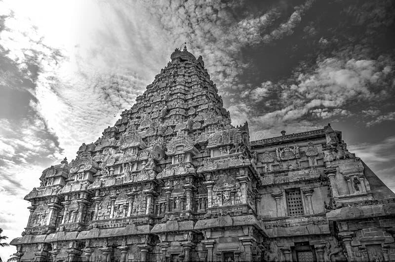 Gangai Konda Chozhapuram. Raja rajaraja chozan architechture big temple HDR royalty free stock image