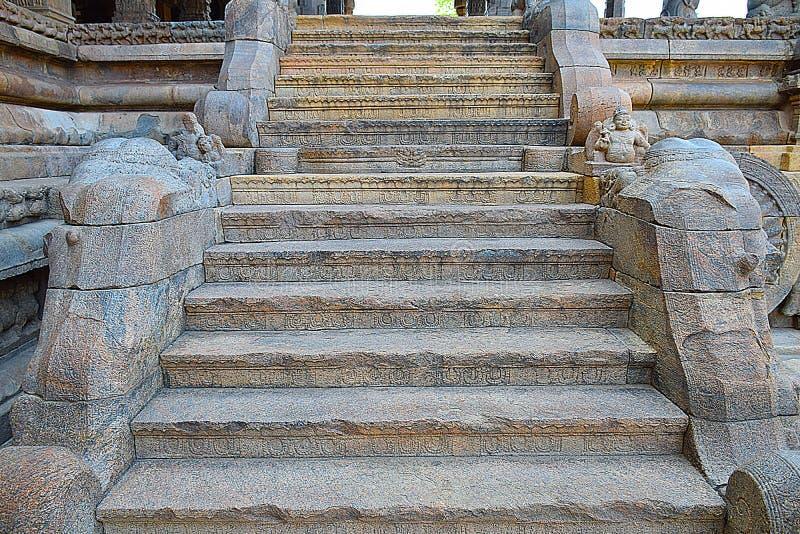 Gangai Konda Chozhapuram. Tharasuram architecture in Kumbakonam. A master piece royalty free stock photos
