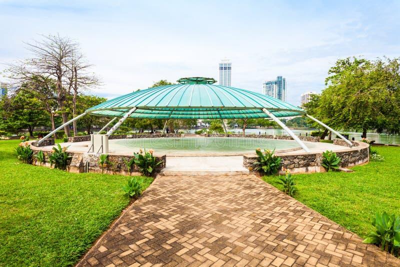 Gangaramaya公园,科伦坡 库存照片
