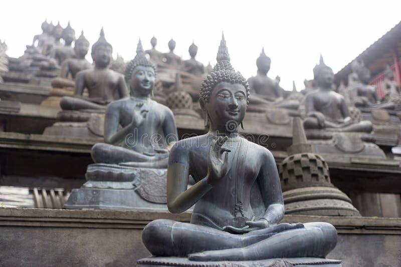 Gangaramaya Temle photos stock
