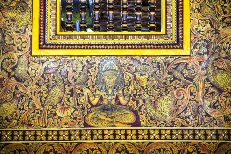 Gangaramaya Tempel, Colombo, Sri Lanka lizenzfreie stockfotos