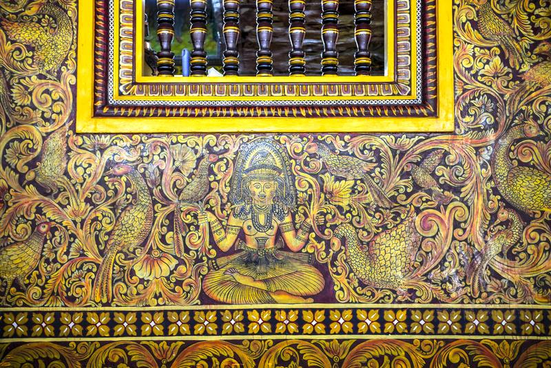 Gangaramaya Temple, Colombo, Sri Lanka royalty free stock photos