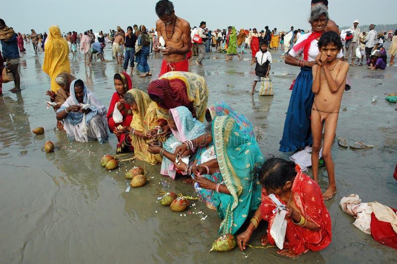 Download Gangasagar Festival In India. Editorial Photo - Image: 11074346
