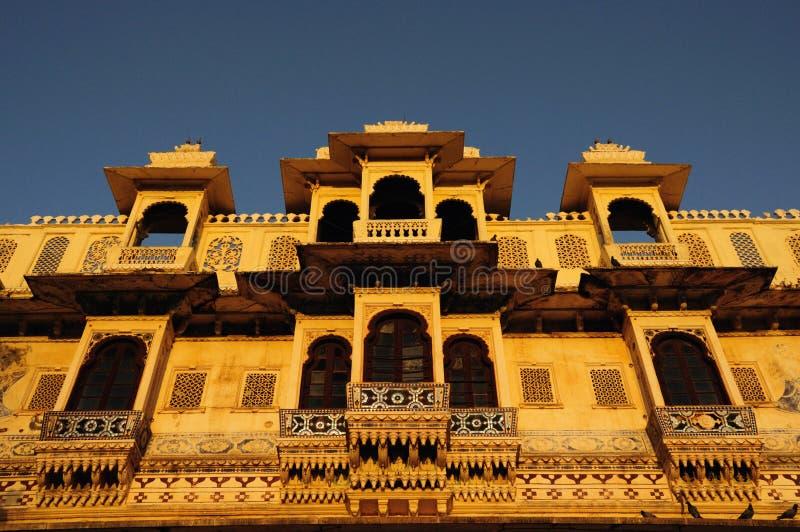 Gangaur Ghat fotografia de stock