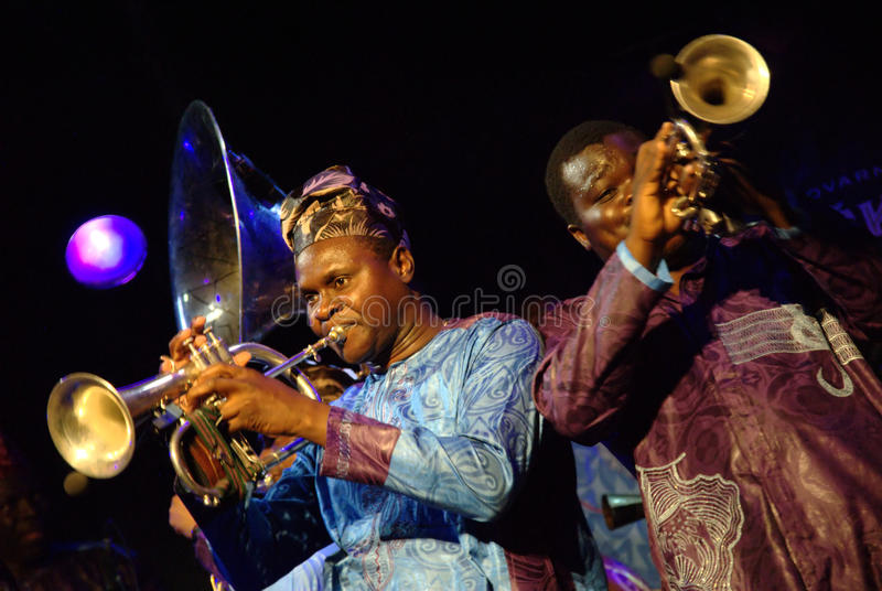 Gangbe Brass Band royalty free stock photos