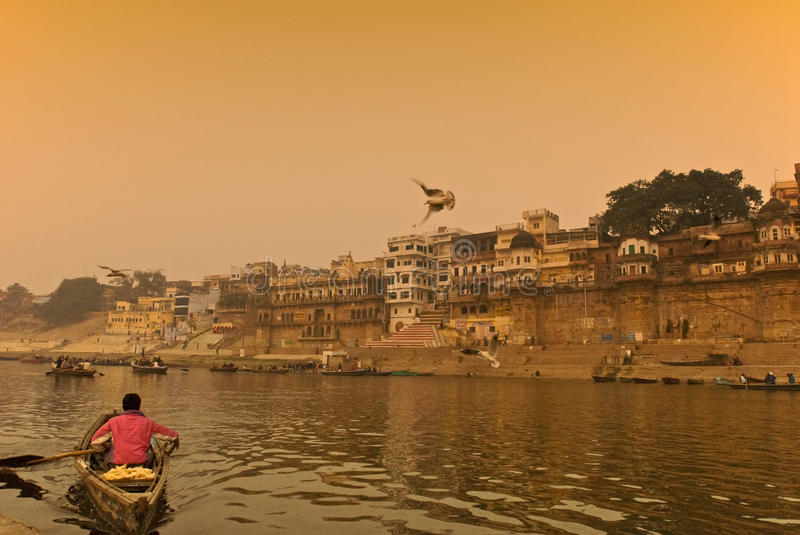 Download The Ganges River.India Editorial Photography - Image: 21798887