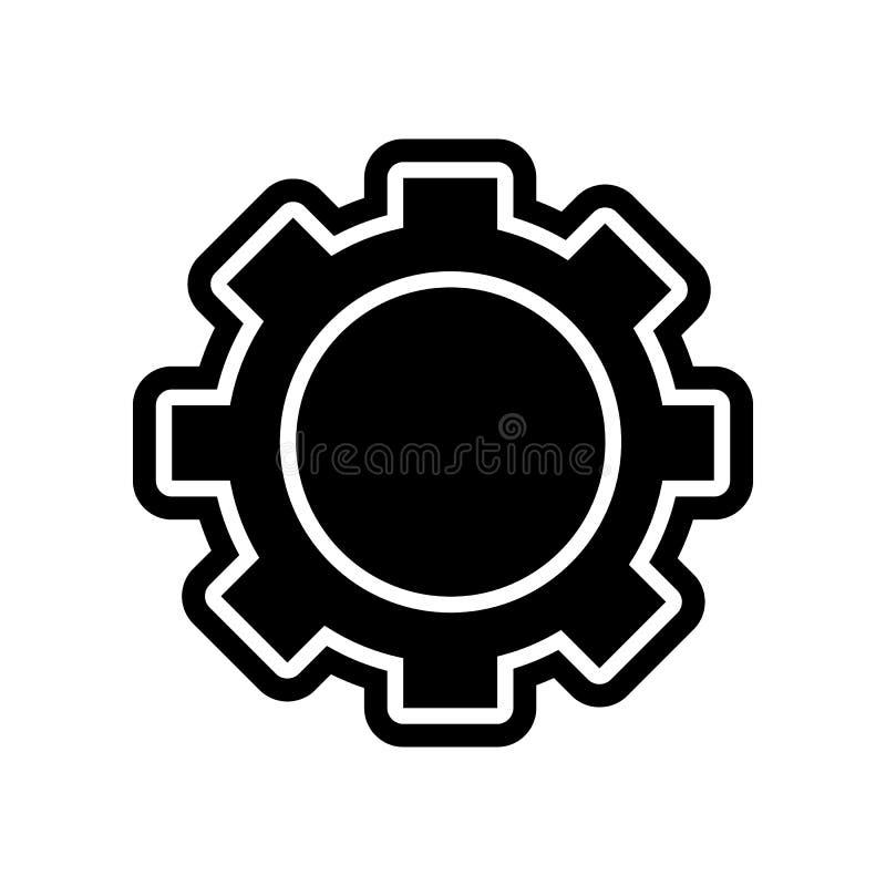 Gangikone Element der Finanzierung f?r bewegliches Konzept und Netz Appsikone Glyph, flache Ikone f?r Websiteentwurf und Entwickl stock abbildung