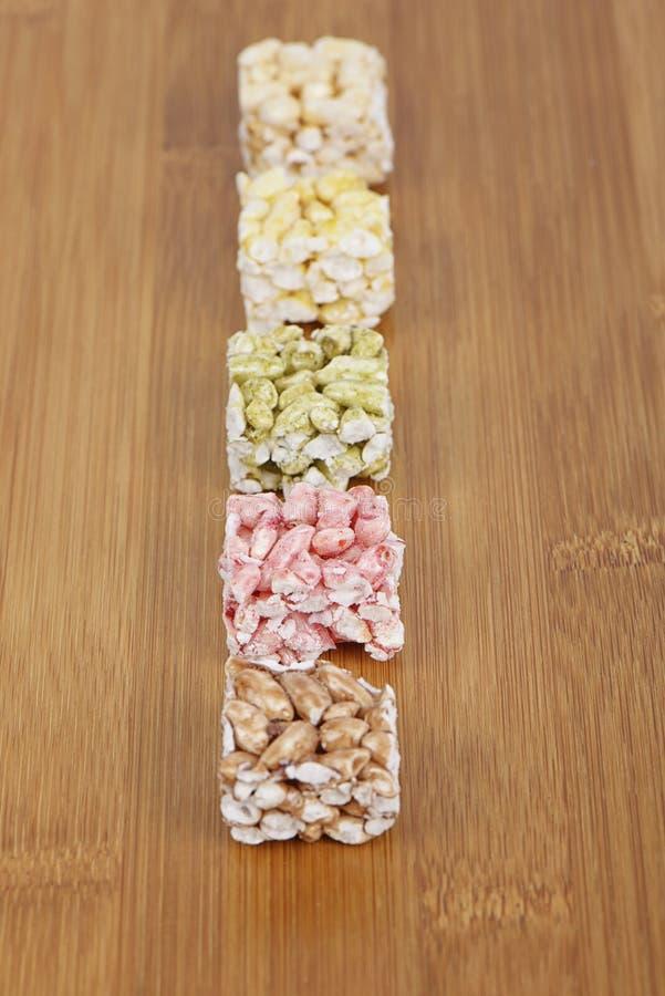 Gangjeong, koreańczyk smażył glutinous ryżowych krakers obrazy stock