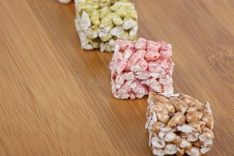 Gangjeong, koreańczyk smażył glutinous ryżowych krakers fotografia stock
