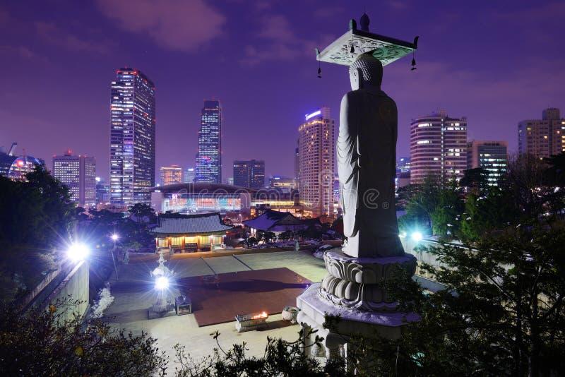Gangnam Seoul royalty free stock photos