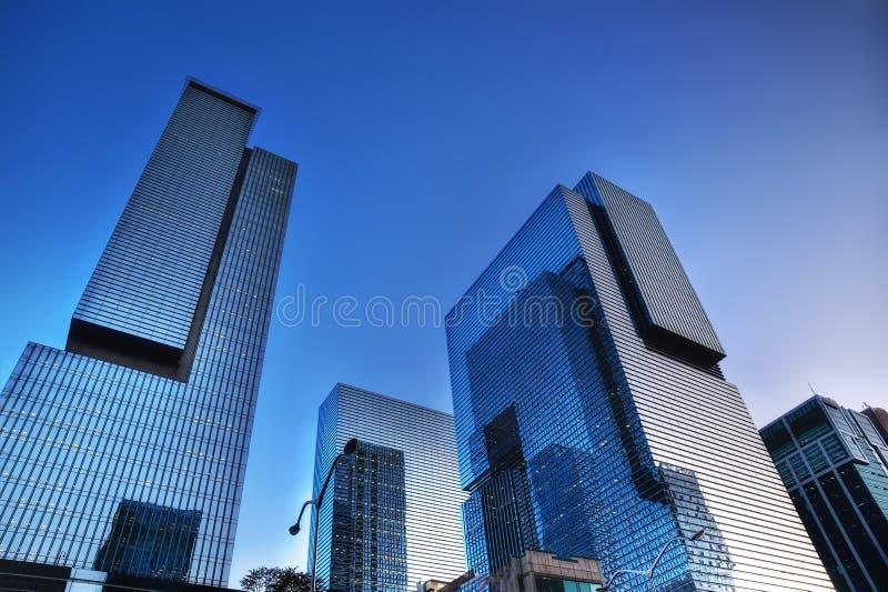 Gangnam Skyscraper Seoul Korea stock photo