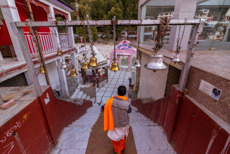 Gangotri Ghat - Uttrakhand stock fotografie