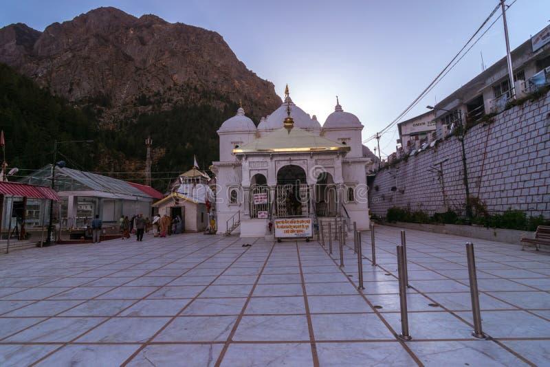 Gangotri-Tempel - Uttrakhand, Indien lizenzfreies stockbild