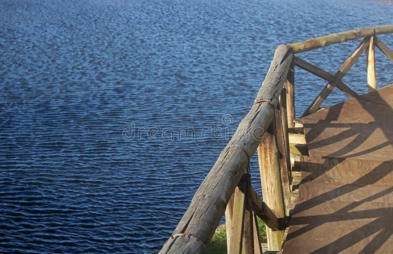 GANGPLANK NAD laguną obrazy stock