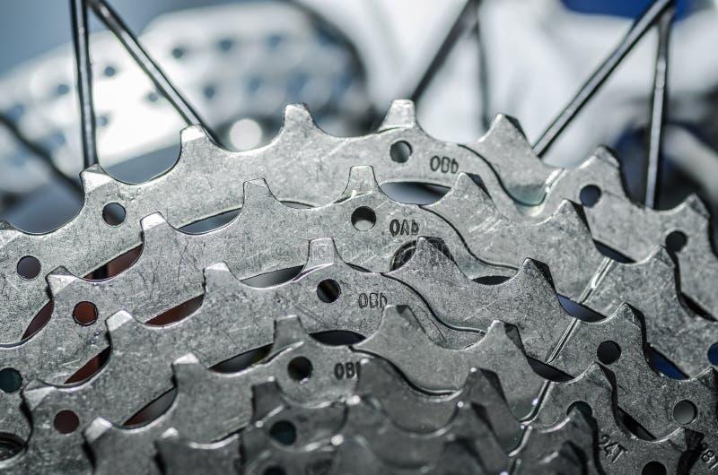 Gangrad-Fahrraddetail stockfotos