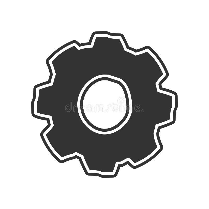 Gangskizzenikone Element der Bildung für bewegliches Konzept und Netz apps Ikone Glyph, flache Ikone für Websiteentwurf und Entwi vektor abbildung