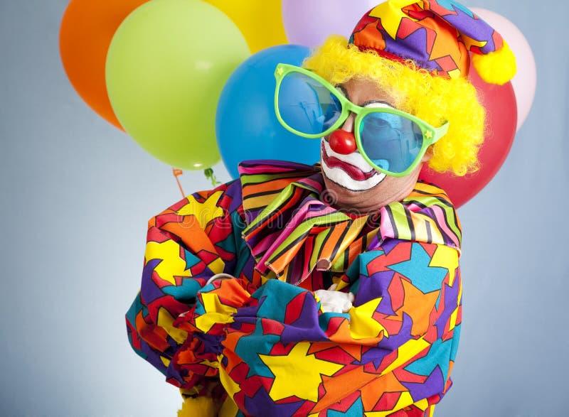Gangsta Clown lizenzfreie stockfotos