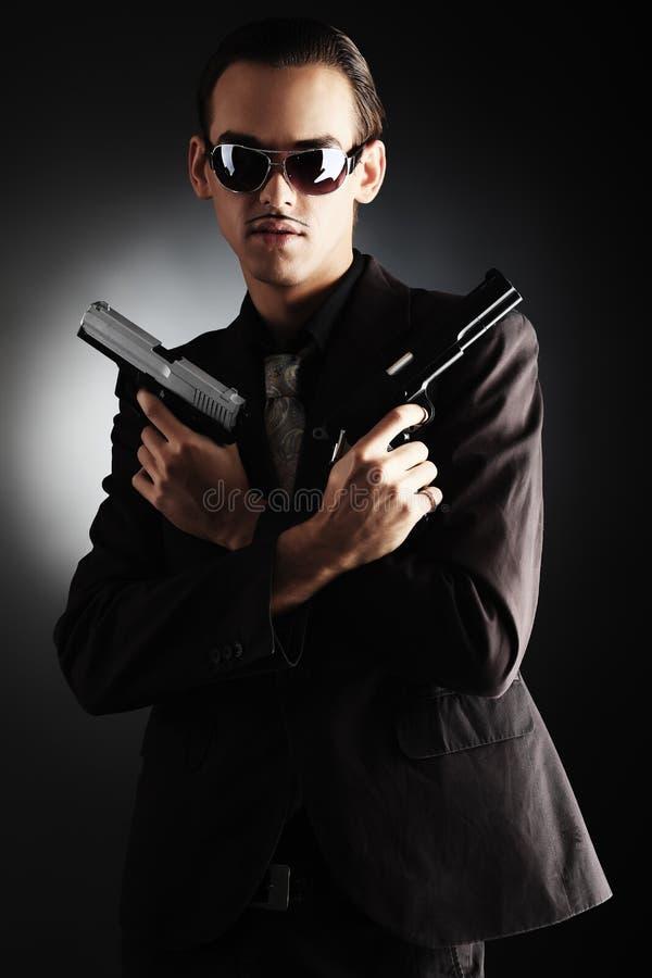 Gangster lizenzfreies stockfoto